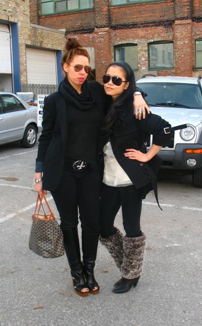 Yen and Gisela