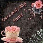 1st blog award