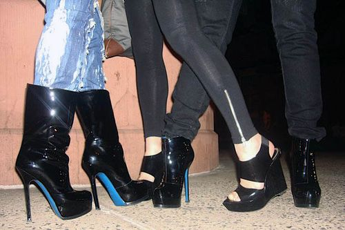 Shoe gangbang